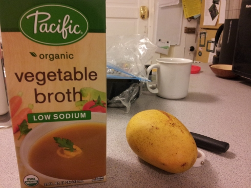 veg broth